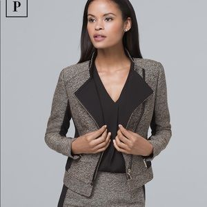 White House Black Market | Tweed Jacket